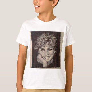 PRINCESS DIANA INK PEN PORTRAIT T-Shirt