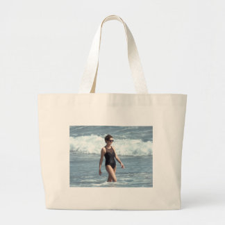 Princess Diana Nevis 1993 Large Tote Bag