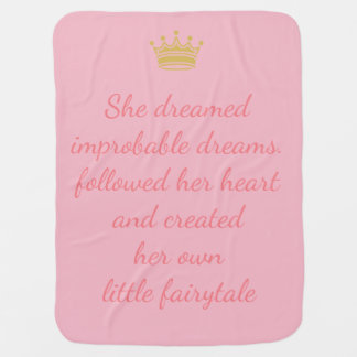 Princess Dreams Baby Blanket
