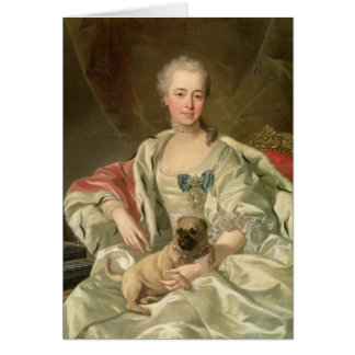 Princess Ekaterina Golitsyna  1759 Card