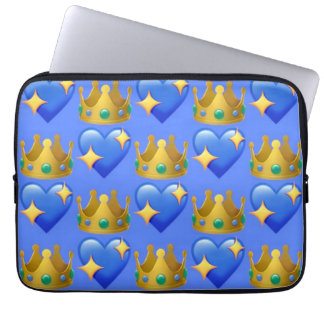 Princess Emoji Laptop Sleeve