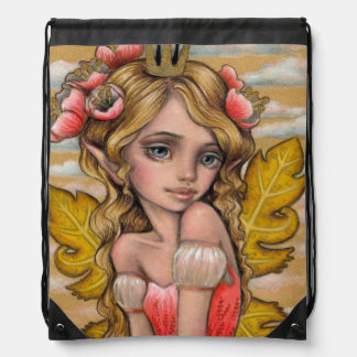 Princess Fae Drawstring Bag