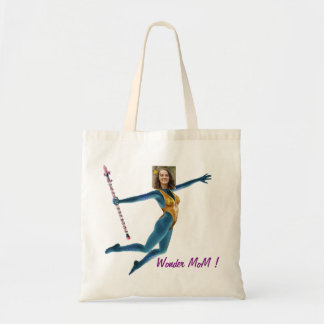 Princess Fairy Wand, Blue - Photo with YOUR - Tote Bag