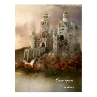 Princess Fantasy Castle Wedding Gifts Postcard