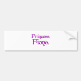 Princess Fiona Bumper Sticker