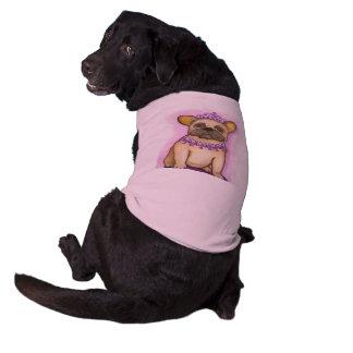 Princess French Bulldog tee shirt for dogs