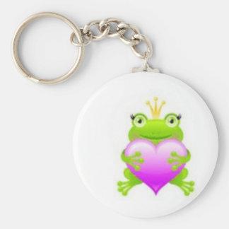 Princess Frog Keychain