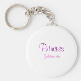 Princess, Galatians 4:7 Keychain