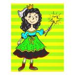 Princess Girl Flyer Design