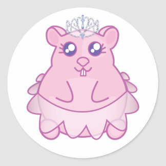 Princess Hamster Stickers