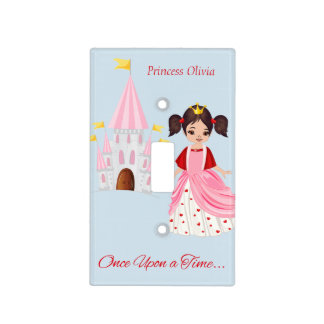 Princess Heart and Castle Light Switch Cover
