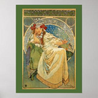 Princess Hyacinth Poster