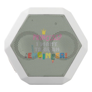 Princess  I want to be an Engnineer Z2yb2 White Bluetooth Speaker