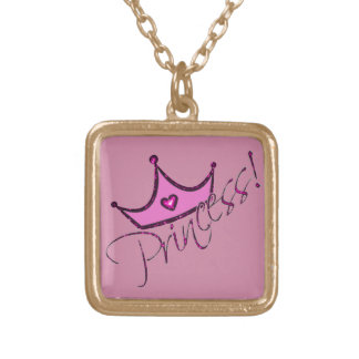 Princess II Gold Plated Necklace