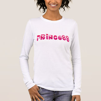 Princess in Hearts Long Sleeve T-Shirt