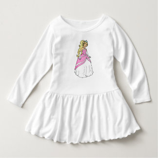 Princess in Pink Toddler Ruffle Dress