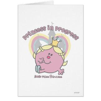 Princess in Progress Cards