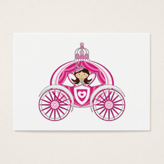 Princess in Royal Carriage Bookmark Business Card