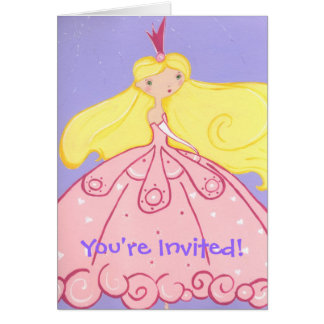 Princess Invitation