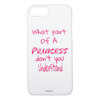 Princess iPhone 8/7 Case