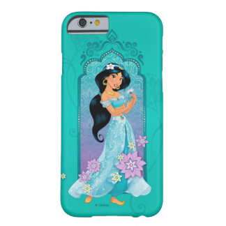 Princess Jasmine Floral Frame Barely There iPhone 6 Case