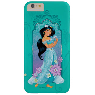 Princess Jasmine Floral Frame Barely There iPhone 6 Plus Case