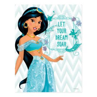 Princess Jasmine Postcard