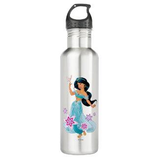 Princess Jasmine with Bird Floral 710 Ml Water Bottle