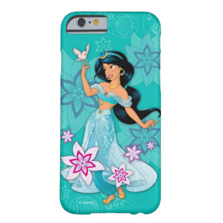 Princess Jasmine with Bird Floral Barely There iPhone 6 Case