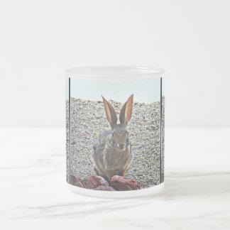 Princess Keke Bunny Frosted Glass Mug