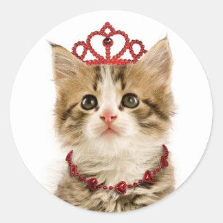 Princess Kitten Stickers