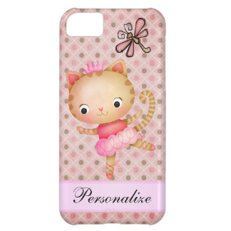 Princess Kitty Ballerina & Dragonfly iPhone 5 iPhone 5C Cases