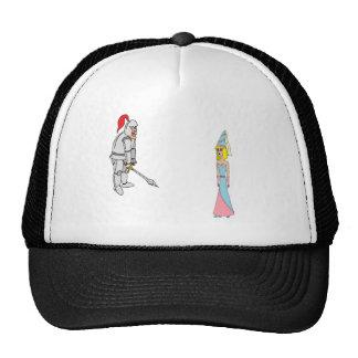 Princess & Knight (plain background) Trucker Hat