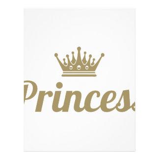 Princess Letterhead