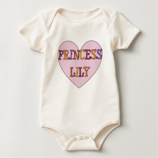 Princess Lily Baby Bodysuit