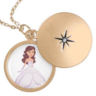 Princess Locket Necklace for Girls