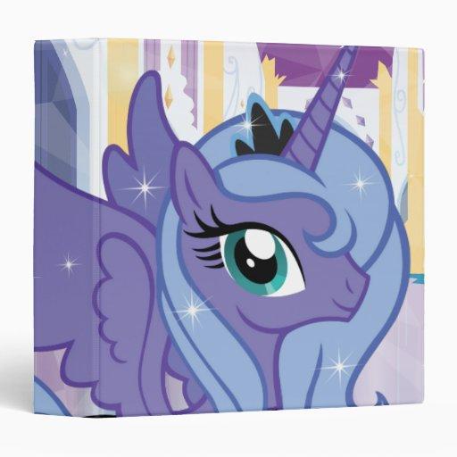Princess Luna Vinyl Binders