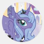 Princess Luna Round Sticker