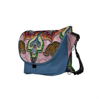 Princess Medallion Messenger Bags
