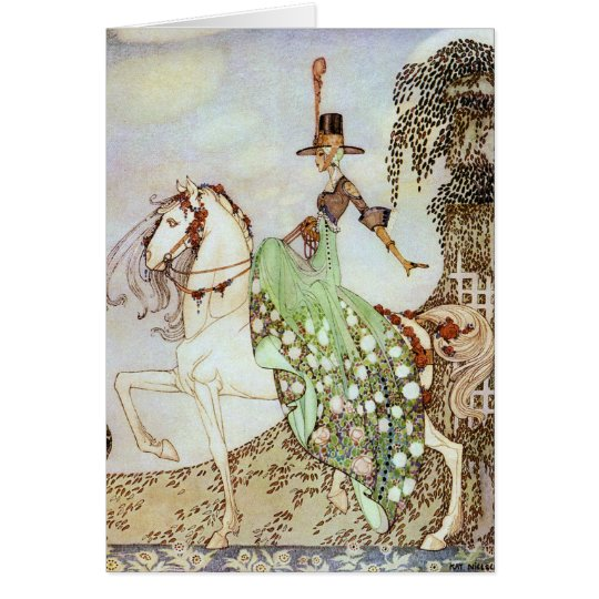 Princess Minon-Minette Art by Kay Nielsen Card