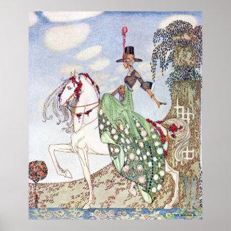 Princess Minon-Minette by Kay Nielsen Poster