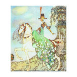 Princess Minon Minette Kay Nielsen Fine Art Stretched Canvas Prints