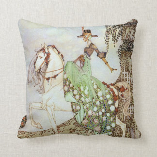 Princess Minon-Minette Kay Nielsen Fine Art Throw Pillow