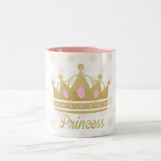 Princess Mug, Glitter Princess Mug