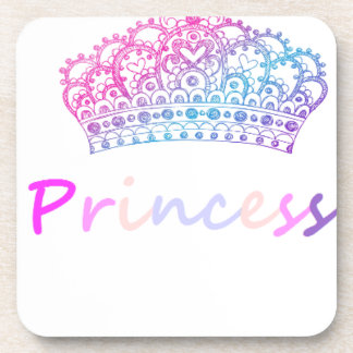 Princess (multi-colored) coasters
