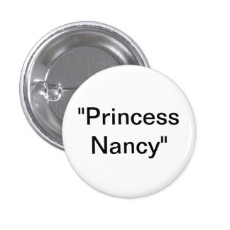 Princess Nancy 1 Inch Round Button