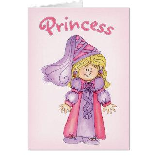 Princess Note Card