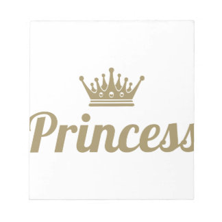 Princess Notepad