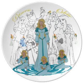 """Princess Odette Porcelain Sketch Plate (10.75"""")"""