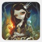 """Princess of Bones"" Sticker"